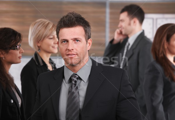 Portrait of mid-adult businessman Stock photo © nyul