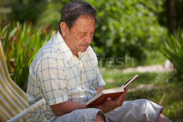 Senior man outdoor Stock photo © nyul
