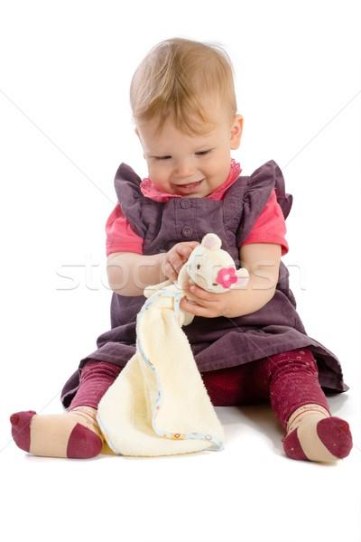 Stockfoto: Spelen · speelgoed · eigendom · gelukkig · maanden
