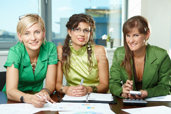 Team of businesswomen Stock photo © nyul