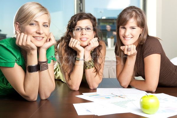 Young businesswomen Stock photo © nyul