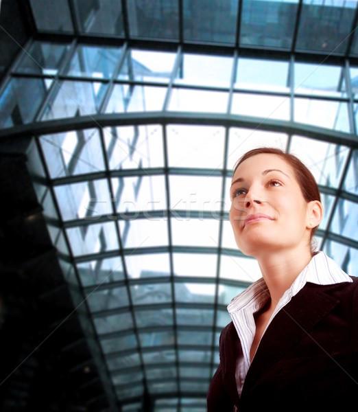 Kobieta działalności młodych ambitny kobieta interesu Zdjęcia stock © nyul