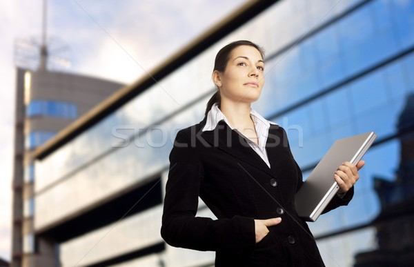 Sucessful Businesswoman Stock photo © nyul