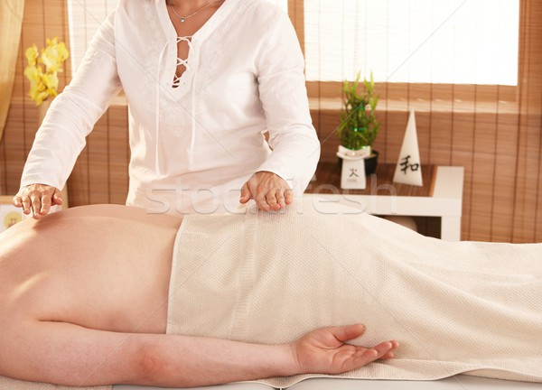 Reiki treatment Stock photo © nyul