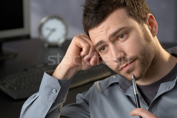 Stock photo: Businessman in office