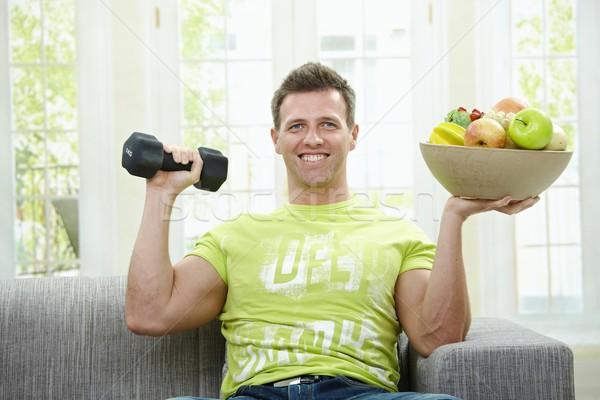 Health and muscle Stock photo © nyul