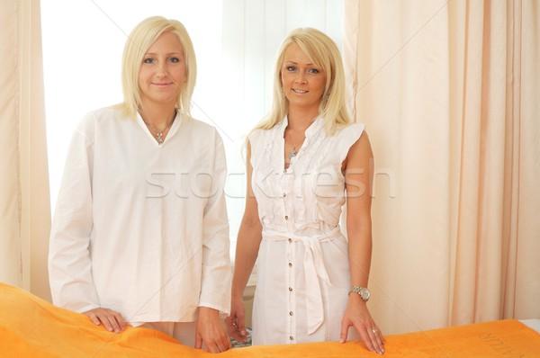 Beauticians Stock photo © nyul
