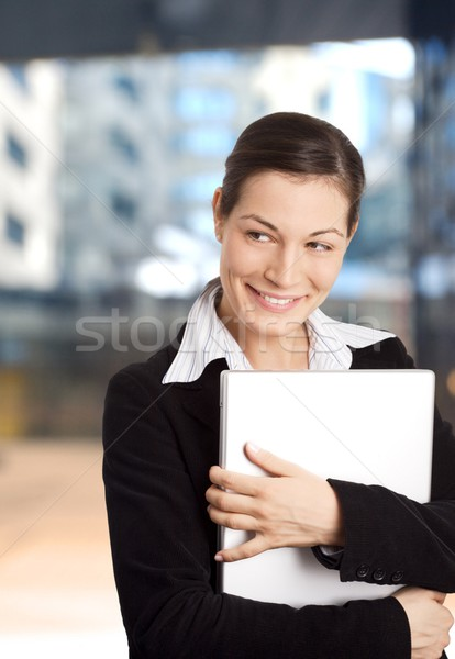 Smiling Businesswomen Stock photo © nyul
