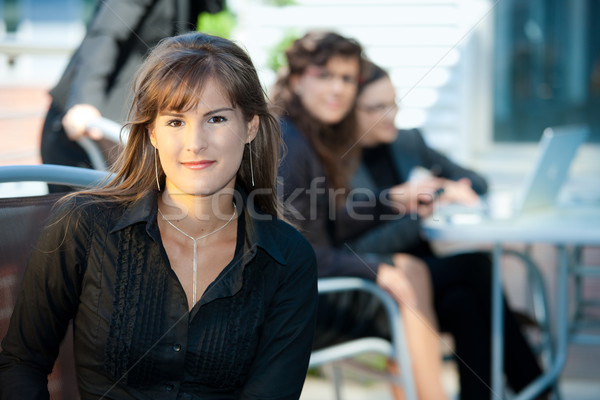 Portrait of businesswoman Stock photo © nyul
