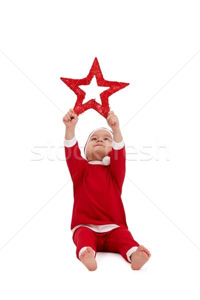 Cute Kid costume grand peu Photo stock © nyul
