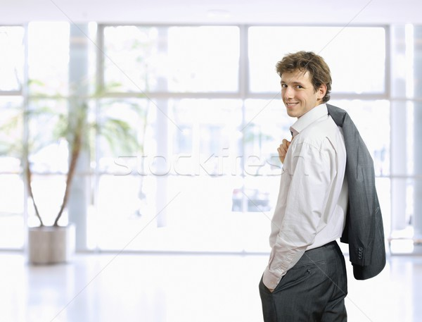 Casual young businessman Stock photo © nyul