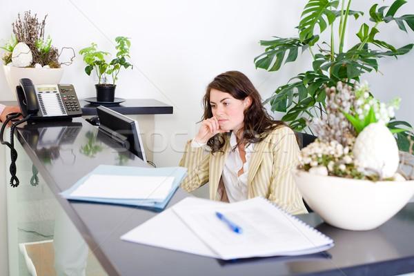 Office receptionist Stock photo © nyul