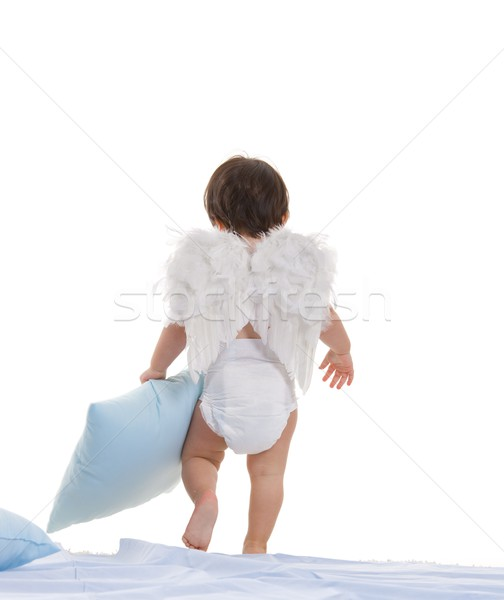 Little angel going to sleep Stock photo © nyul