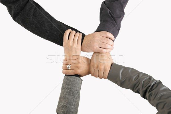 Businessteam holding hands Stock photo © nyul