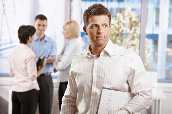 Businessman in office Stock photo © nyul