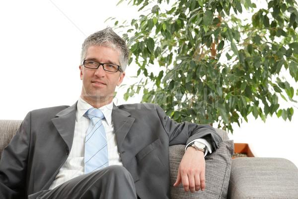 Relaxed businessman Stock photo © nyul