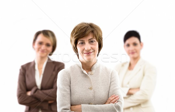 Businessteam isolated Stock photo © nyul
