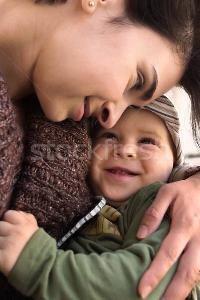 Mother and baby Stock photo © nyul