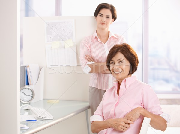 Portrait of office workers Stock photo © nyul