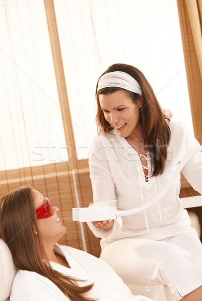 歯 ホワイトニング 化粧品 レーザー 治療 美 ストックフォト © nyul