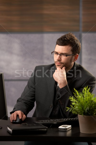 Businessman at work Stock photo © nyul