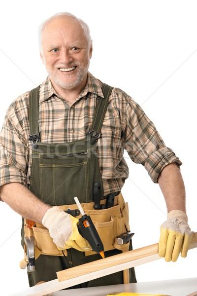 Senior man with tools Stock photo © nyul