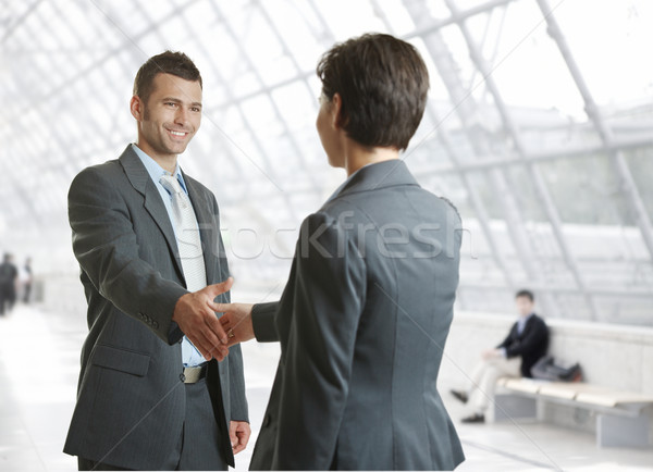 Stock photo: Handshake