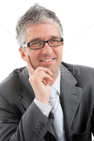 Stock photo: Happy businessman