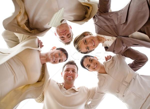 Happy Team Stock photo © nyul