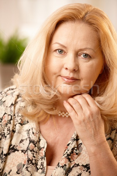 Stock photo: Portrait of mature woman