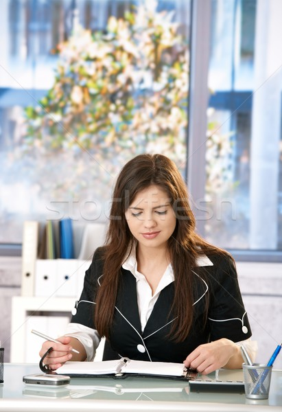 Young woman in office Stock photo © nyul