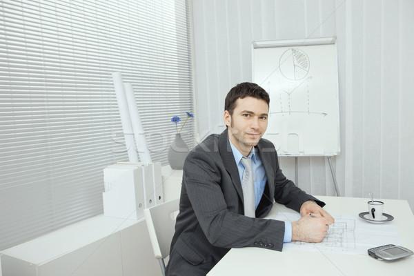 Businesman planning Stock photo © nyul