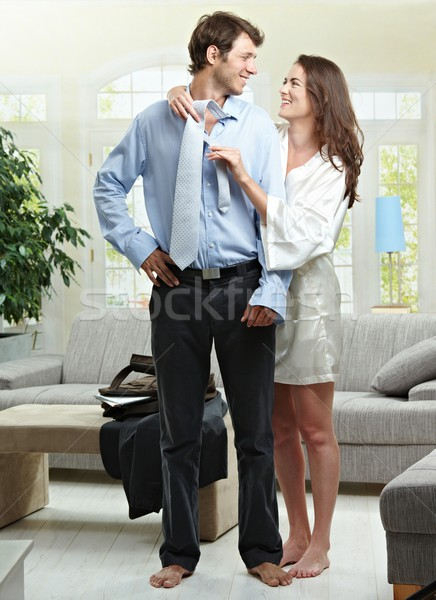 Couple in the morning Stock photo © nyul