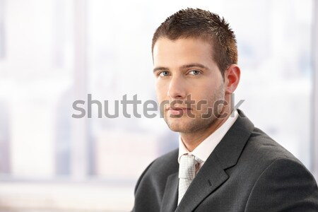Portrait of young businessman Stock photo © nyul