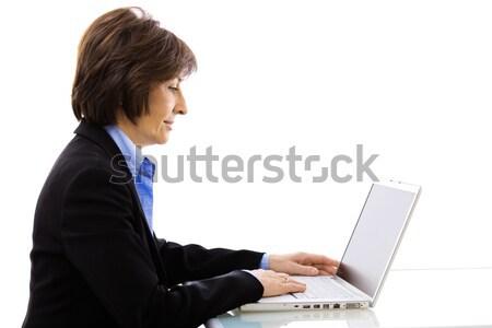 Stock photo: Portrait of senior businesswoman