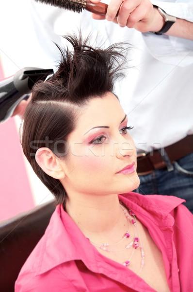 hairsyle Stock photo © nyul
