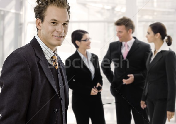 Businessman and team Stock photo © nyul