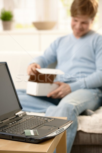 Online purchase Stock photo © nyul