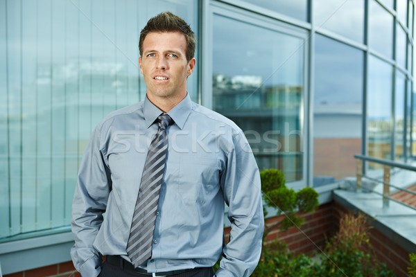 Businessman outdoor Stock photo © nyul