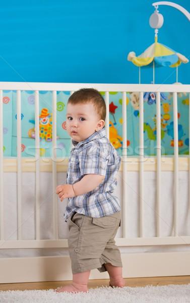Baby standing Stock photo © nyul