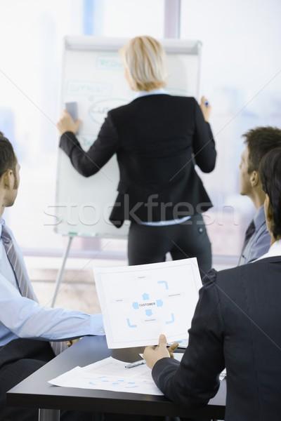 Business presentation Stock photo © nyul