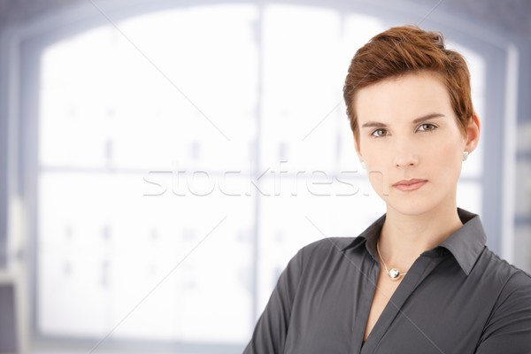 Determined young woman Stock photo © nyul