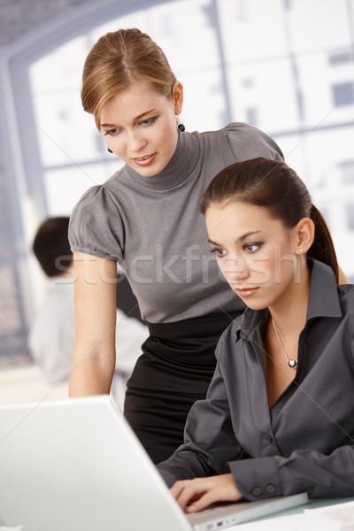 Сток-фото: молодые · предпринимателей · рабочих · ярко · служба