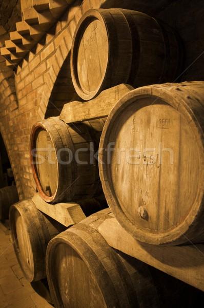 Wine barrels Stock photo © nyul