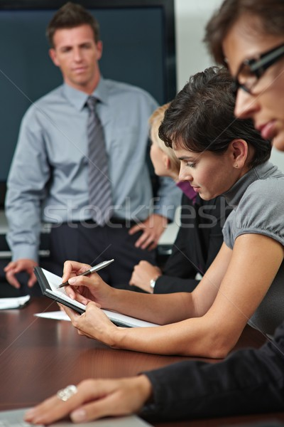 People on business training Stock photo © nyul