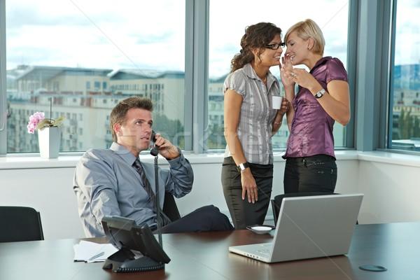 Сток-фото: деловые · люди · служба · счастливым · молодые · рабочих · команда