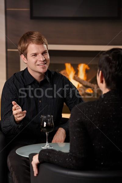 Romantic couple dating Stock photo © nyul