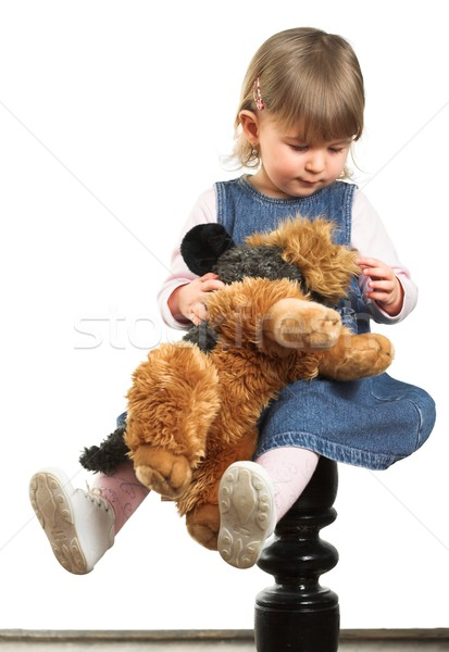Stock photo: Portrait of a Child