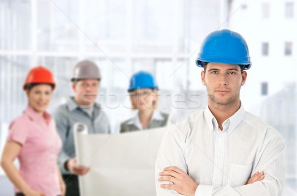 Architect team in office Stock photo © nyul