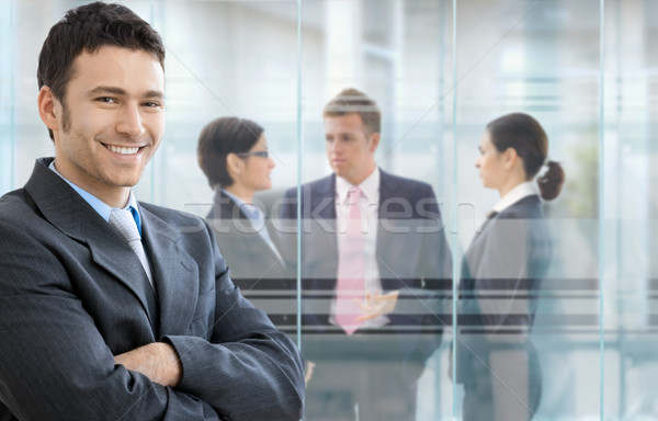 Confident businessman Stock photo © nyul